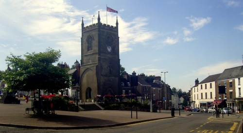 Coleford Market Place, by Roland Turner. Image used under Creative Commons, click pic for link.